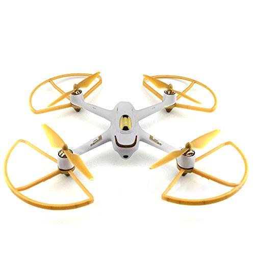 Preisvergleich Produktbild Gold CW / CCW Propeller Schutz Schutz für H501S H501C RC Quadcopter Teile