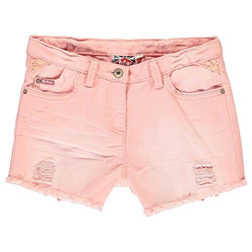 Lee Cooper bambini moedchen colori Denim pantaloncini breve Jeans pantaloni tempo libero rosa chiaro M