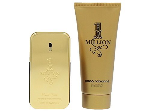 Paco Rabanne 1 Million Set Homme/Men, Eau de Toilette, Vaporisateur/Spray, Showergel, 1er Pack (1 x 150 ml) -