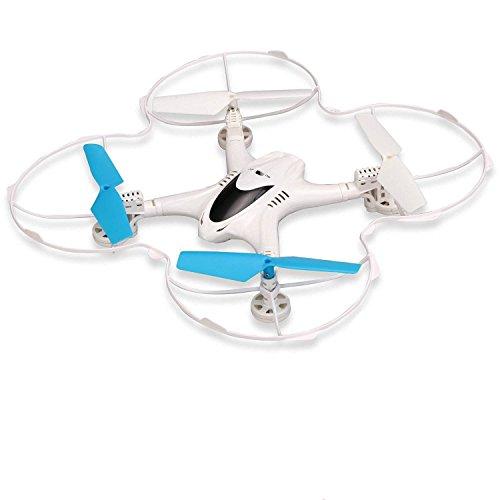 MJX X300C 2.4G 4CH 6-Axis RC Quadcoptepr FPV Real-time Video Drone Headless Mode 0.3MP Camera (X300C, bianco)