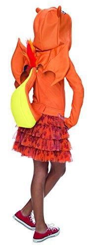 Imagen de disfraz de charizard pokémon para niña  3 4 años alternativa