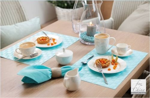 Via By R&B Geschirr-Serie Cecilia Material Milch&Zucker Set 2 tlg. Cecilia