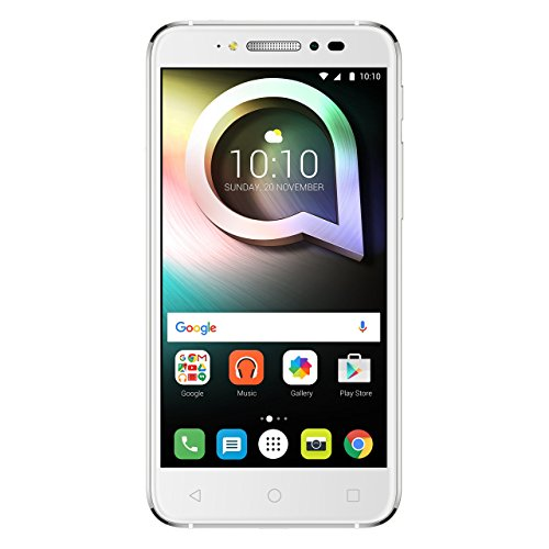 Alcatel 5080X-2DALWE7 Shine Lite Smartphone 12,7 cm (5 Zoll) 16GB Android 6.0 Pure weiß