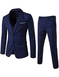 Allthemen Costume Hommes 3 Pcs De Mariage Party Costumes Blazer Gilet Pantalon