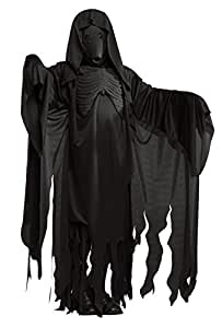 Masque et robe costume officiels Harry Potter pour adulte, de Rubie's–Taille standard, Noir
