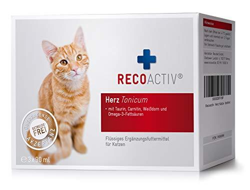 RECOACTIV® Herz Tonicum für Katzen - Kurpackung 3x90 ml (270ml)
