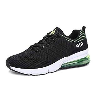 Juneau Herren Laufschuhe Damen Turnschuhe Freizeit Sneaker Dämpfung Leichte Rutschfeste Atmungsaktive Sportschuhe Fitness Schuhe
