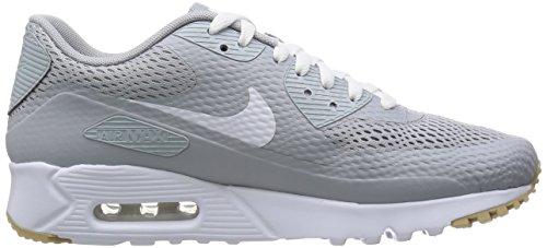 Nike Air Max 90 Ultra Essential, Baskets Homme, Bleu Gris (Wolf Grey / White-Wolf Grey)