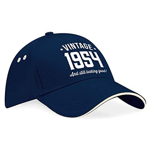 Geburtstag Geschenk, 65. Geburtstag Geschenke für Herren, 65. Geburtstag Geschenke für Frauen, 1953Geburtstag, Vintage, hat, Baseball Cap, Textil, Navy (Putty Trim), einheitsgröße ()