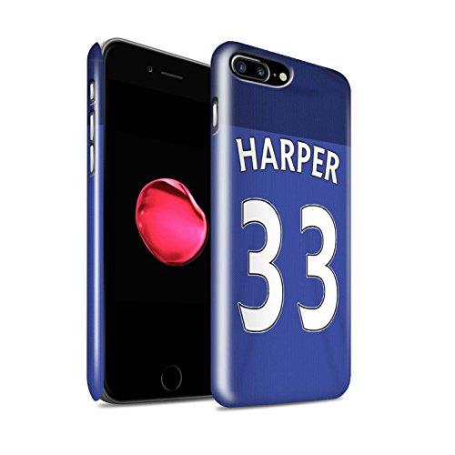 Officiel Sunderland AFC Coque / Clipser Brillant Etui pour Apple iPhone 7 Plus / Matthews Design / SAFC Maillot Domicile 15/16 Collection Harper