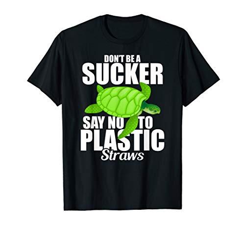 """SAY NO TO PLASTIC"" T-Shirt | Anti Plastik Klimaschutz"