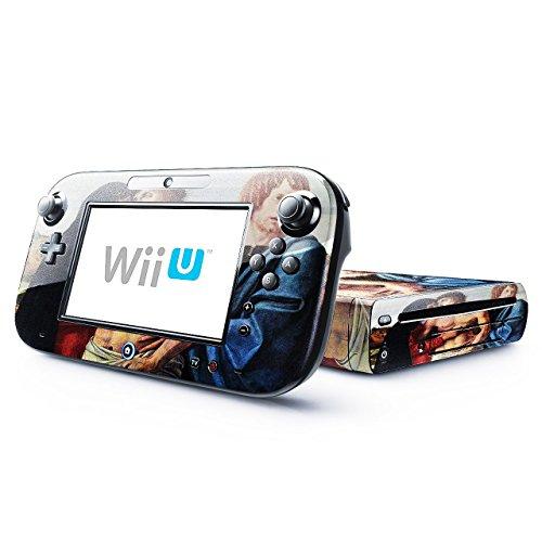 Bellini - Pieta 1, Skin Autoadesivo Sticker Adesivi Pelle Cover Decal Set con Disegno Strutturato con Nintendo Wii U