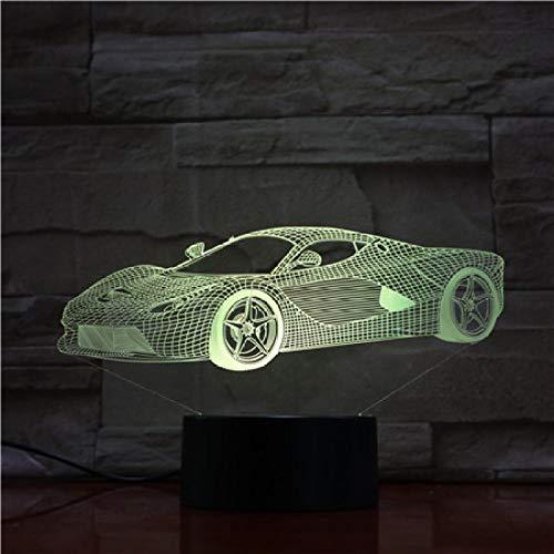 Control Super Auto Nachtlicht Led Vision Stereo Acryl Panel Tischdekoration 7 Farben Ändern Schlafzimmer Lampe Schreibtischlampe Geburtstagsgeschenke ()