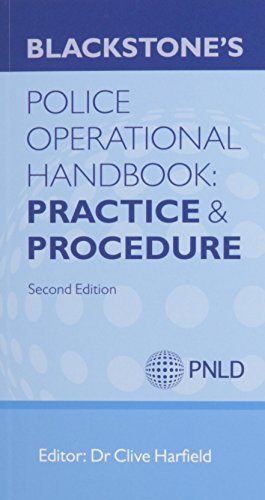 Blackstone's Police Operational Handbook 2014: Law & Practice and Procedure Pack (Blackstones Police Handbook)