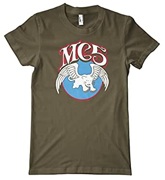 ce771cac14 MC5 Panther Logo American Apparel T-Shirt: Amazon.co.uk: Clothing