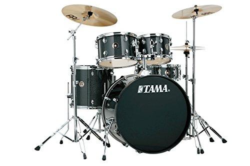Tama RM52KH6-CCM Rhythm Mate Schlagzeug Set (5-teilig) mit 55,8 cm (22 Zoll) Bassdrum inkl. dreiteiligem Beckenset/6-teiliger Hardware