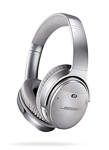 Bose QuietComfort 35 Wireless Bluetooth Noise Cancelling Headphones - Silver