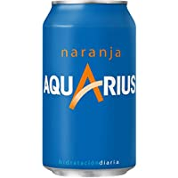 Aquarius - Bebida refrescante de naranja, 330 ml