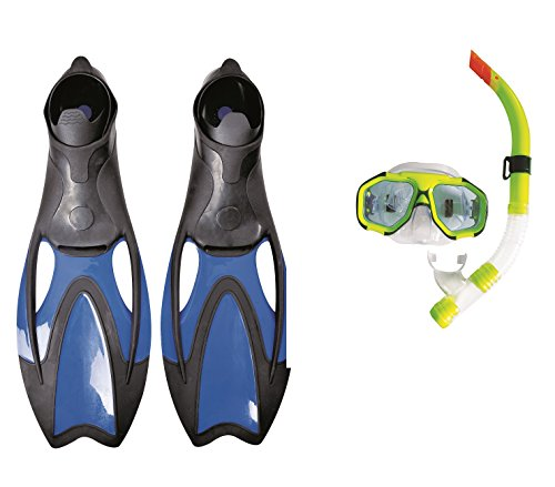 Jilong Snorkel Set Ocean - Schnorchel Set für Erwachsene, Maske und Schnorchel