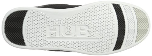 Hub Herren Firm Tex Mid L60 W. Ripstop Sneaker Schwarz (Black/White)