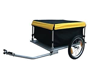 FoxHunter KMS Folded Luggage Utility Cargo Bike Trailer 140 Litre Volume