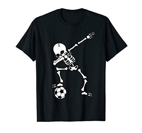 Dabbing Skelett Fußballtrikot, Halloween Dab Shirt, Kinder
