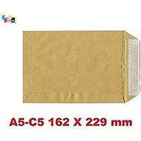 51aa8ccc67 20 - pochette, enveloppe Kraft 90g 162 x 229 Bandes Détachables fermeture avec  bande adhésive