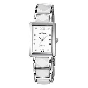 Viceroy Ceramica Y Zafiro 47606-03 – Reloj para Mujer, Color Blanco