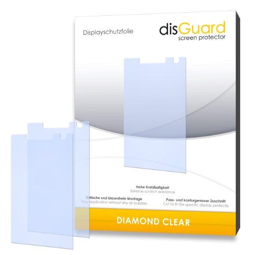 disGuard Displayschutzfolie für-PREMIUM QUALITÄT für HTC Touch Diamond2/Diamond 2 Diamond Film Screen