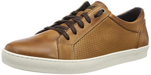 ARA Herren ALEJO 1133101 Sneaker, Braun (Cognac 07), 43 EU (Braune Leder Herren Schuhe)