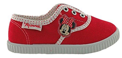 Disney Minnie Maus Sneaker Schuhe Rot