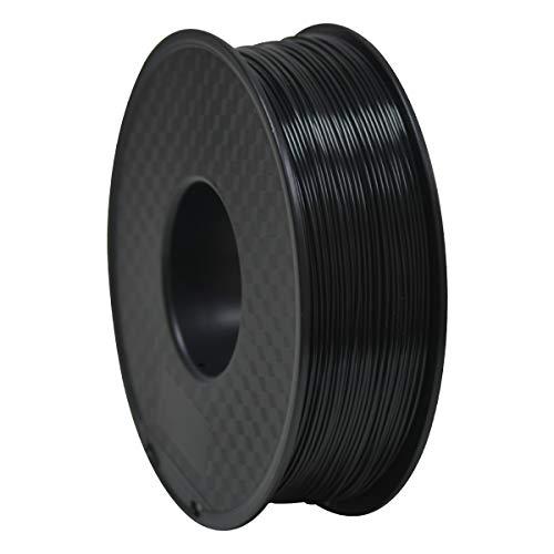GEEETECH ABS Filamento 1.75mm Negro, Impresora 3d Filamento 1KG 1 Carrete