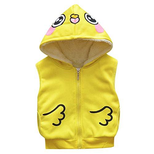 ♪ vovotrade ♪ bambino più velluto gilet di velluto, giacca per bambini cartone animato baby toddler caldo cardigan vestiti giacca con cappuccio
