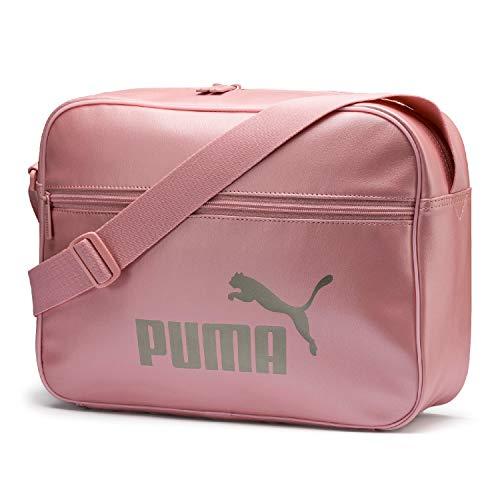 Puma WMN Core Up Reporter Bandolera, Mujeres, Bridal Rose-Metallic, OSFA