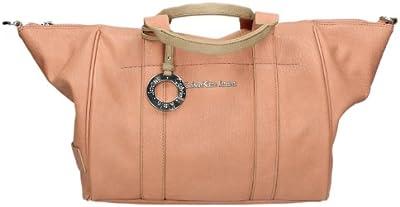 Calvin Klein - Bolso al hombro de Piel para mujer Pesca
