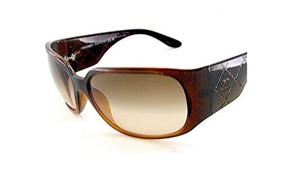 53c790586201a New Chanel 5080B 5080 B 830 13 Sunglasses 64-16-125 Faded Brown Lens Brown  Frame  Amazon.co.uk  Clothing