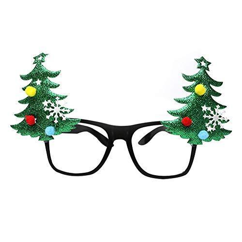 Weihnachts-Augenschmuck Weihnachten DIY-Brille Fancy-Dress-Brille Neuheit Weihnachts-Brille Bringen Sie Spaß auf die Party für Kinder