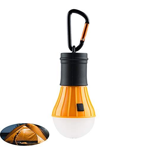 WJQ Camping Lichter - Zelt Led Licht, Batteriebetriebene 4 Positionen Anpassen des Umweltschutzes Energiesparende Schnittstelle Wasserdicht - Ideal für Outdoor Camping -