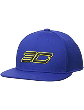 Under Armour Boy's SC30 Core 2.0 Cap Gorra, Niños, Azul (400), One Size