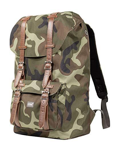 blnbag U2 - Rucksack mit Gepolstertem Laptopfach, Reiserucksack Handgepäck 20 Liter, Leichter Backpack Unisex 46 cm – Camouflage