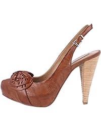 ROBERTO BOTELLA - Zapato correa al talon con adorno láser - Color Marron - Talla 38