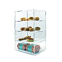 4 Tier Acrylic Counter Display Cabinet (DS30/4CFBA)
