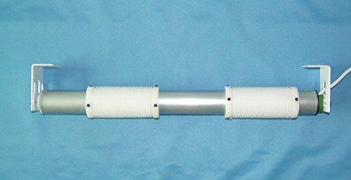 Gowe motorisiert Raffrollo Syetem, Maßgeschneiderte erhältlich, Motor, Farbe: 70cm, Breit