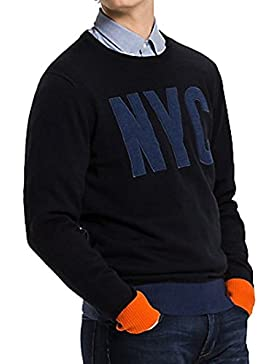 Tommy Hilfiger Jersey logo NYC de intarsia