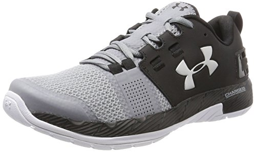 Under Armour Ua Commit Tr, Zapatillas Deportivas para Interior para Hombre, Negro (Black), 43 EU