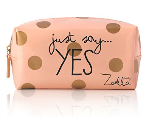Zoella Beauty Just Say Yes Peach Beauty / Make Up Bag / Pencil Case by Zoella Beauty