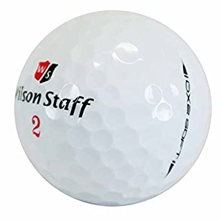 lbc-sports 50 Wilson DX2 Soft Golfbälle - AAAAA - PremiumSelection - weiß - Lakeballs - gebrauchte Golfbälle - DX 2