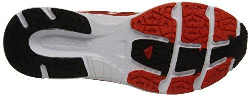 Salomon X-tour 2, Chaussures de Running Compétition homme multicolore (Flea/Tomato Red/Black)