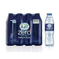 Al Ain Zero, Bottled  Drinking Water - 500 ml (Pack of 12)