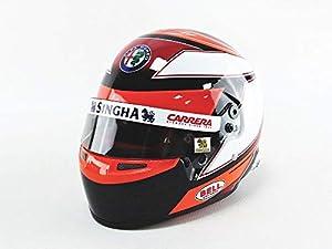 Mini Helmet 4100007 - Coche en Miniatura, Color Negro, Blanco y Rojo